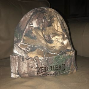Camouflage Red Head Brand Co Winter Hat